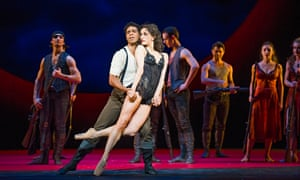 Carlos Acosta and Marianela Nuñez in Carmen at the Royal Opera House