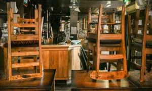 A closed pub in Edinburgh.
