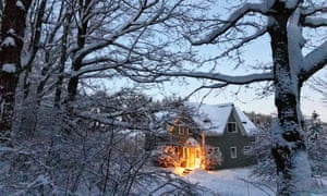 The Vermont homestead that Elizabeth Willard Thames shares with her husband and daughter. Just a few years ago, this seemed like an impossible feat.