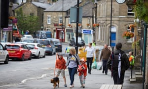 Residents and business owners have been allowed to return to Whaley Bridge.