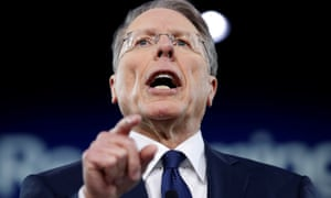 Wayne LaPierre, executive vice president of the National Rifle Association, speaks at the Conservative Political Action Conference.
