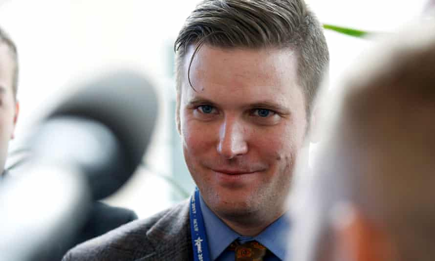Richard Spencer. The city of Charlottesville voted to remove a statue of Confederate general Robert E Lee, sparking a backlash from the so-called 'alt-right' community.