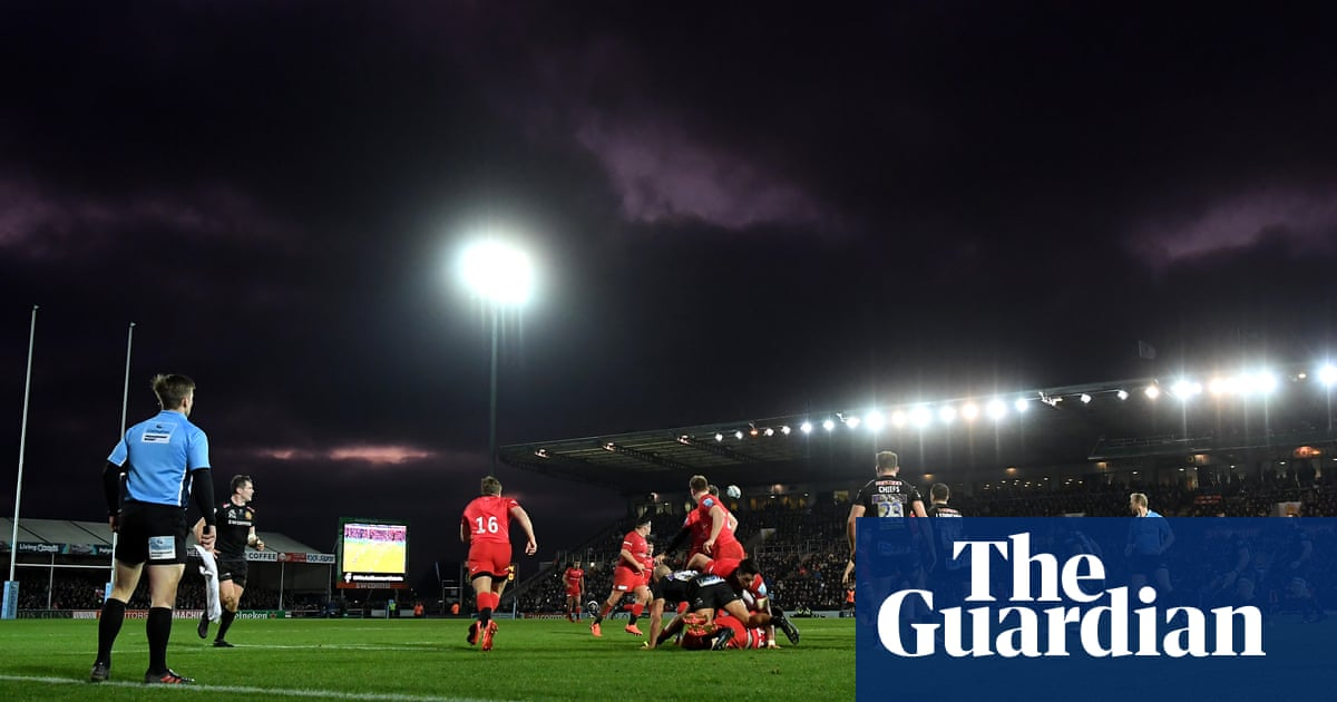 Exeter will give £350,000 share of Saracens salary cap fine to charity