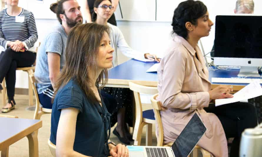 Teachers attending a CPD session at the Education Centre