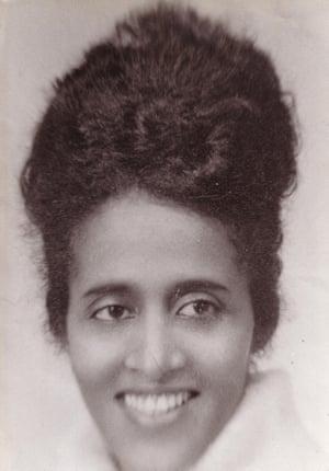 Sissay's mother, Yemarshet.