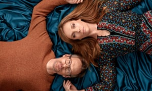 'Warmly funny': Toni Collette and Steven Mackintosh in Wanderlust.