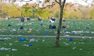 A hoax photo that was circulated on Facebook accusing Australian climate strike protesters of leaving rubbish behind