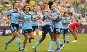 Sydney FC's W-league players