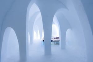 December 2015, ICEHOTEL: Flying Buttress design by AnnaKatrin Kraus (US\DE) and Hans Aescht (Gremany)