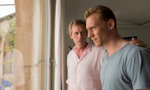 Hugh Laurie Tom Hiddleston The Night Manager.