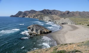Cabo de Gata. Mónsul beach.