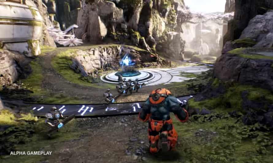 Paragon gameplay.