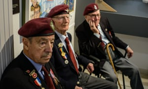 From left: Frank Prendergast, with fellow veterans Fred Glover and Bill Gladden.