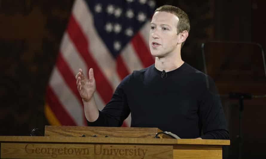 Mark Zuckerberg speaks at Georgetown University