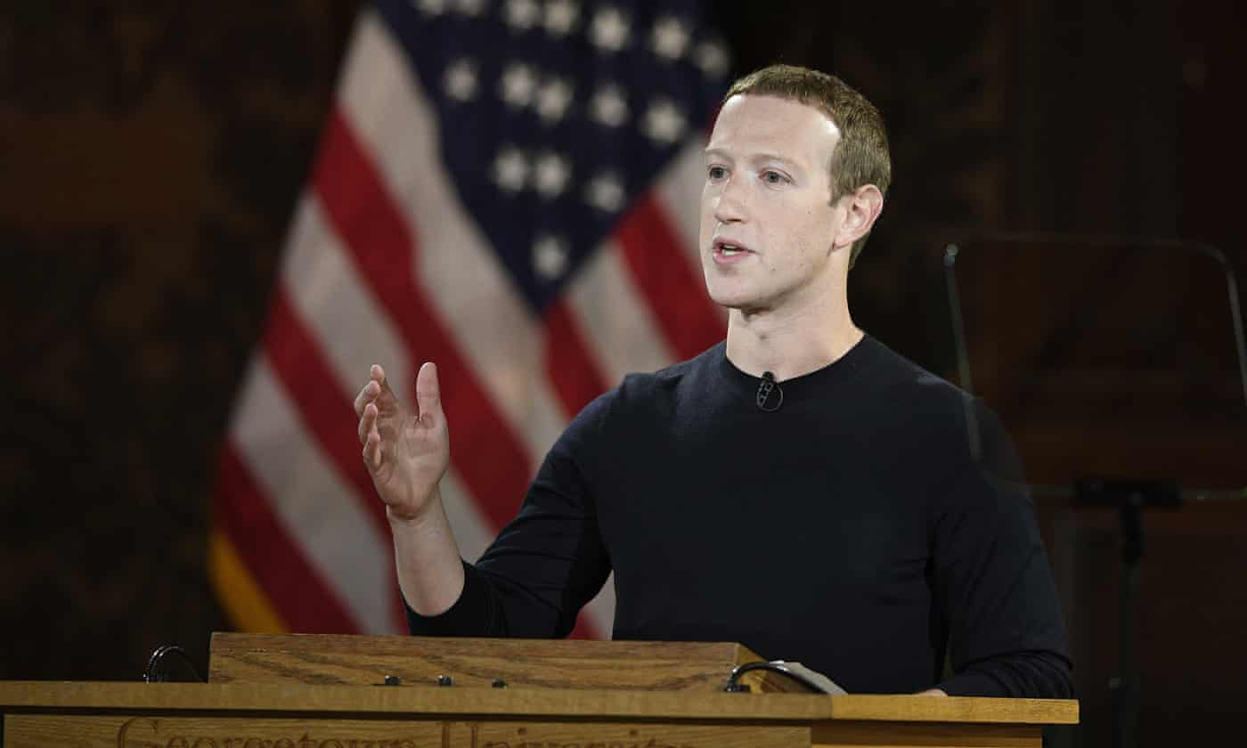Facebook reports Russia's 'well-resourced operation' to meddle in 2020 US election – as it happened