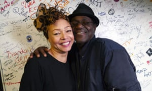 Kim Appleby with Neville Staple of Coventry's the Specials.
