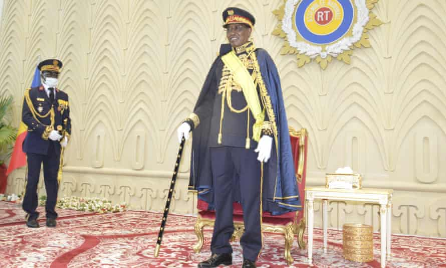 Idriss Déby is awarded the title of Marshal of Chad
