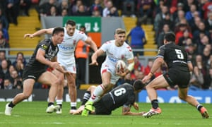 Tommy Makinson in action in the second Test against New Zealand.
