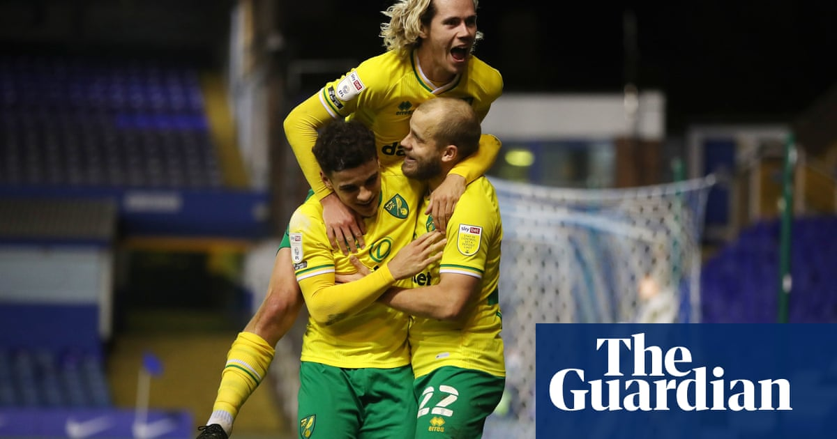 Championship: Norwich 10 points clear, Pearson pep talk inspires Bristol City