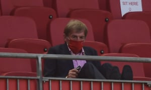 Liverpool legend Kenny Dalglish must be enjoying what he's seeing from the stands.