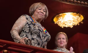 Mavis Staples receives applause during the Kennedy Center Honors gala.