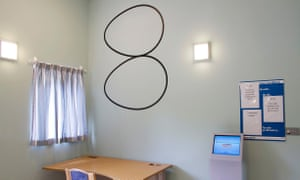 Hospital Rooms project in the Phoenix Unit in Springfield hospital in Tooting London
