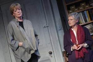 Maggie Smith and Judi Dench in The Breath of Life at Theatre Royal Haymarket in 2002