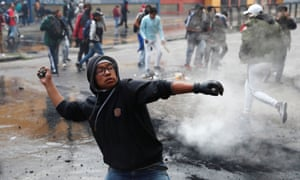 Violent Protests In Ecuador Force Government To Move Video