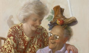 Newspaper Couple by John Currin.