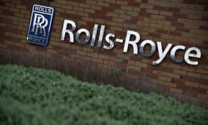 The Rolls-Royce logo