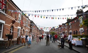 A VE Day celebration in Chester
