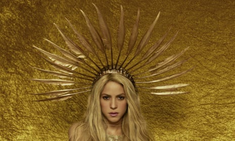 'I want to continue growing and being interesting' … Shakira, whose El Dorado tour film is out now.