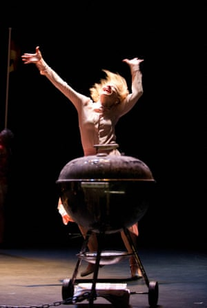 Cate Blanchett in Big And Small (Gross Und Klein) by Botho Strauss, Barbican theatre, 2012