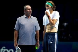 Alexander Zverev says that his mentor, Ivan Lendl, is a very good guy, but I do not have to be in a corner & # 39;