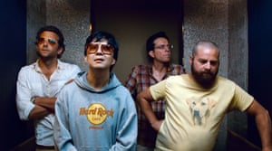 from left, Bradley Cooper, Ken Jeong, Ed Helms and Zach Galifianakis in The Hangover Part II.