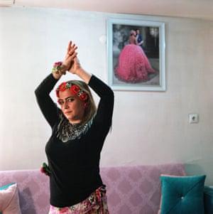 Roma dance teacher Reyhan Tuzsuz
