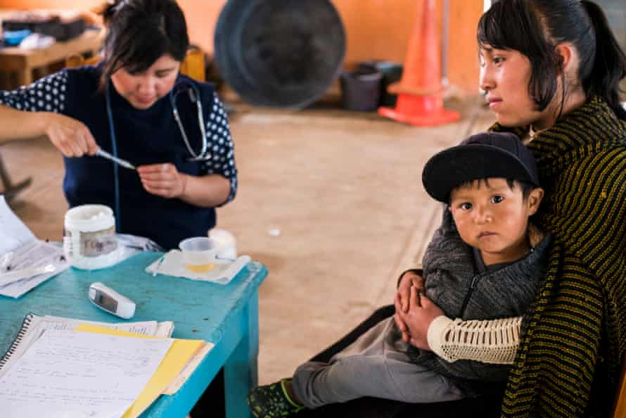 Sanando Heridas is a free and itinerant healthcare system for indigenous people