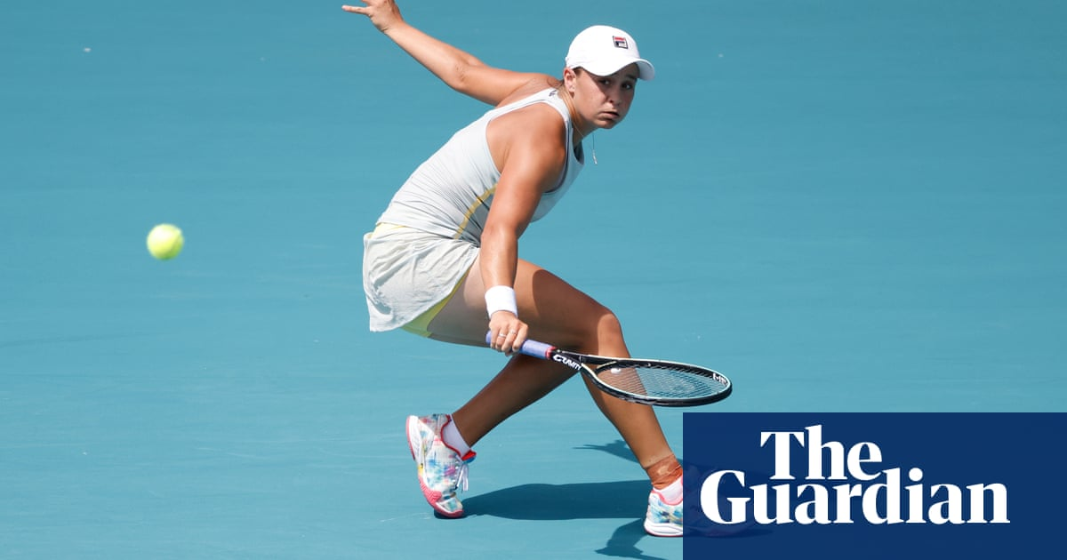 There were tears: Barty back on the road for long months on tour