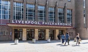 Liverpool Philharmonic Hall exterior