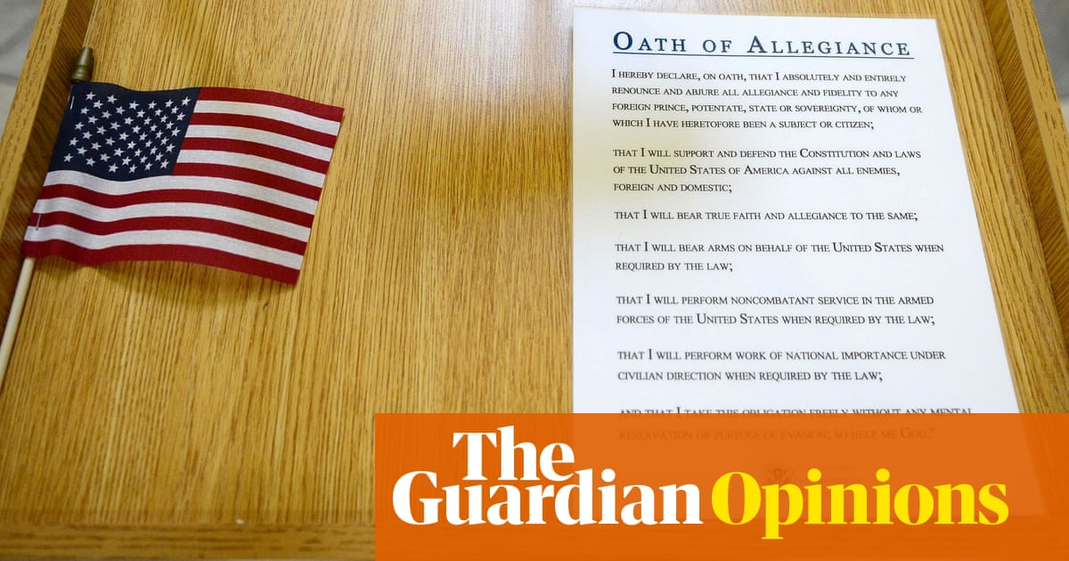 Digested week: I've belatedly become an American. Congratulations, people say