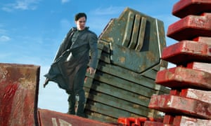 Benedict Cumberbatch in Star Trek Into Darkness.
