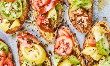 Toast and tahini: Anna Jones' summer tomato recipes