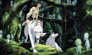 Monumental animation that speaks to the climate crisis … Princess Mononoke.