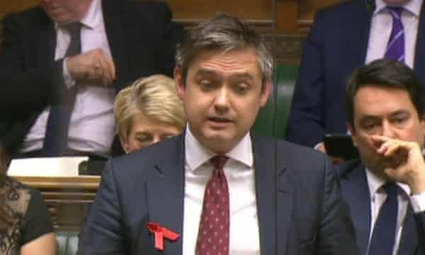 John Woodcock MP in the Commons