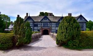 Speke Hall, Merseyside, whose former owner Richard Watt traded in slave-produced rum and sugar.