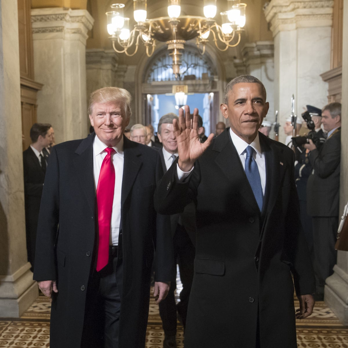 It Eats Him Alive Inside Trump S Latest Attack Shows Endless Obsession With Obama Donald Trump The Guardian Which presidents are still living
