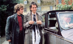 One of the greatest ever film debuts … Grant with Paul McGann and Richard Griffiths in Withnail & I.