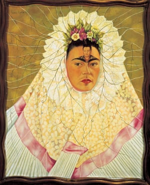 Self-Portrait as a Tehuana by Frida Kahlo.