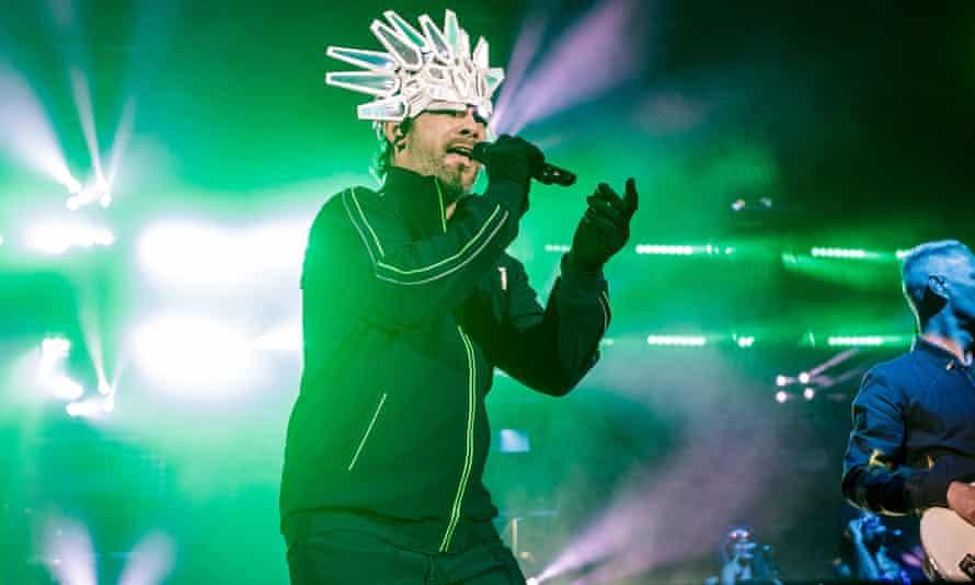 Jamiroquai performing in Dusseldorf this week.