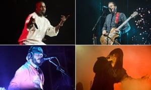 Record makers ... Kanye West, Sigur Rós, Sunn O))) and Bon Iver.